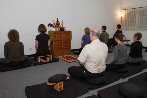 BWZ, group zazen, July 2013 - web sized