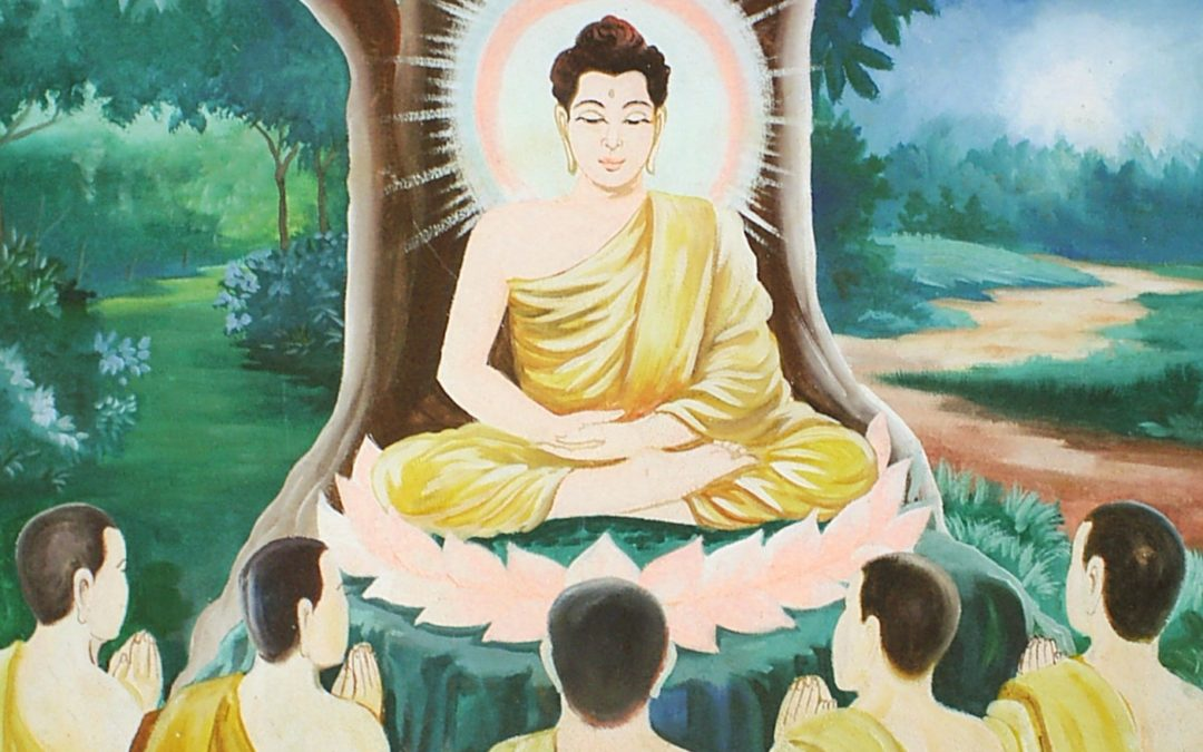 The Buddha's Five Things to Consider Before Speaking