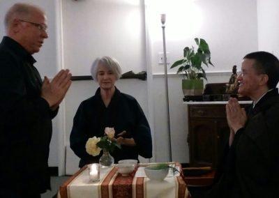Bob becoming a Buddhist