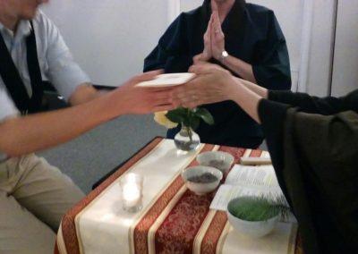 Receiving the Ketchimyaku